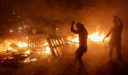 أعمال شغب وانتقام في بلدة بشري في لبنان ضد سوريين