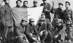 صورة أرشيفية لثوار الجزائر