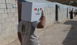 مساعدات كويتية في إدلب