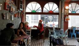 مقهى في تركيا - تعبيرية