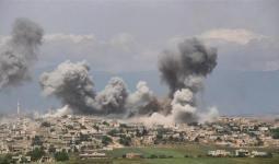 قصف-في-جبل-الزاوية- مشاهد من الإنترنت.jpg