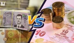 الليرة التركية VS الليرة السورية