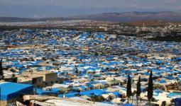 مخيمات أطمة شمال إدلب - أرشيف