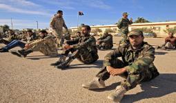 عناصر من نظام الأسد في ليبيا