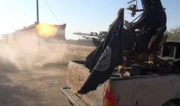 عناصر داعش خلال إحدى المعارك في سوريا
