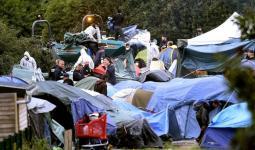 صورة تعبيرية لمخيمات في أوروبا