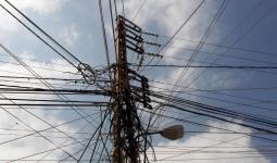 عامود كهرباء تعبيرية