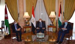 القاهرة: لقاء ثلاثي بين مصر والأردن وفلسطين
