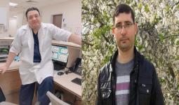 الطبيببان محمد اليوسف وعبدو جبارة