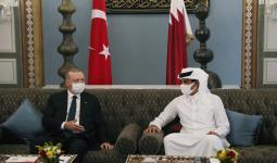 لقاء سابق جمع أردوغان بأمير قطر
