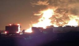 انفجار على الحدود السورية اللبنانية
