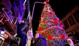 احتفالات رأس السنة في دمشق