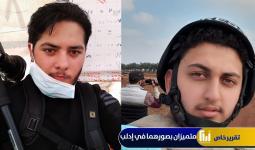 عارف وتد ومحمد سعيد في ريف إدلب الجنوبي