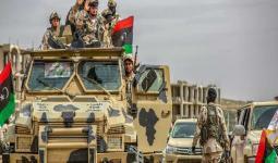 عناصر من الجيش في ليبيا