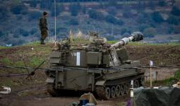 قوات الجيش الإسرائيلي بالقرب من الحدود الإسرائيلية السورية