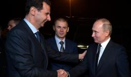 فلاديمير بوتين وبشار الأسد