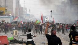 مظاهرات الناصرية في العراق - أرشيف