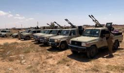 صورة أرشيفية من الأحداث في ليبيا