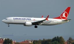 إحدى طائرات الخطوط الجوية التركية