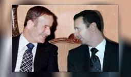 بشار الأسد ووالده حافظ