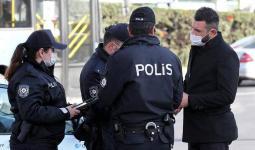 قوات أمن تركية خلال تنفيذ حملة اعتقالات لمطلوبين