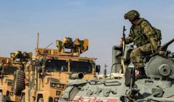 دورية تركية روسية مشتركة في سوريا