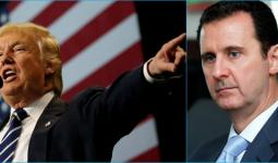 ترامب وبشار الأسد