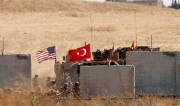 قوات أمريكية تركية في سوريا