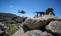 قوات تركية خلال إحدى العمليات ضد الإرهابيين