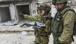 جنود روس في دير الزور