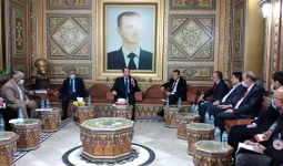 زيارة أعضاء لجنة منظمة الصليب الأحمر الدولية إلى سوريا_2021-03-25