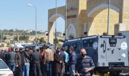 الملك الأردني عبد الله الثاني، نظم زيارة إلى المشفى عقب الحادثة