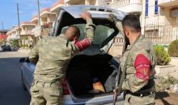 الشرطة العسكرية في مدينة عفرين