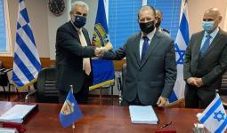 لقطة من توقيع الاتفاقية