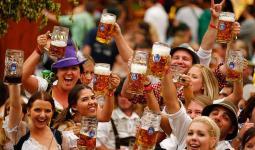 مهرجان البيرة في ميونخ الألمانية
