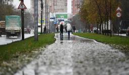 أمطار في موسكو