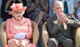 الأمير فيليب والملكة إليزابيث