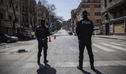 حظر تجول في تركيا
