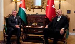 أردوغان والملك عبدالله الثاني
