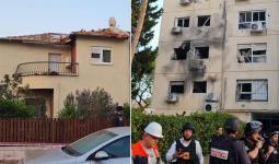 صورة المبنى الذي تم قصفه