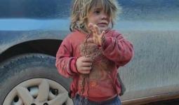 الطفلة نهلة العثمان ريف إدلب الشمالي
