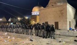التوتر يتواصل في المسجد الأقصى ومدينة القدس