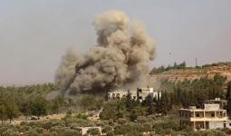قصف روسي على ريف إدلب