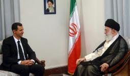 نظام الأسد وإيران