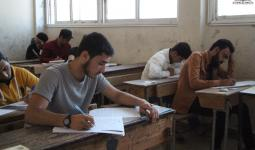 تقديم الطلاب لمادة الرياضيات في إدلب 13 6 2021