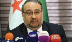 رئيس وفد المعارضة السورية أحمد طعمة