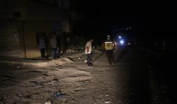 آثار القصف في عفرين - الدفاع المدني 15 7 2021
