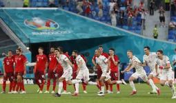 فوز إسبانيا على سويسرا