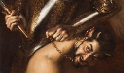 أطلق عليها اسم رئيس الملائكة ميخائيل يهزم الشيطان