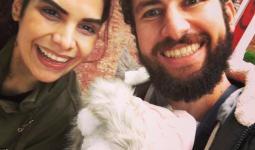 الزوجان السوريان هديل العرجا وخليل عشاوي